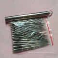 Hot sell titanium alloy tooth picks holder Metal portable waterproof toothpick holder mini toothpicks holder
