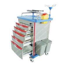 MT MEDICAL High Class Medical ABS Emergency Crash Carts Clinical Trolleys