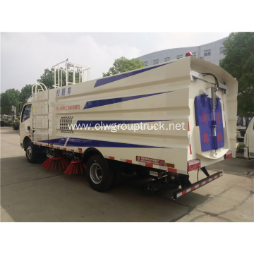 Airport vacuum road sweeper truck for sale