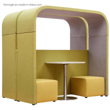 Office Meeting Booth with Meeting Display TV System