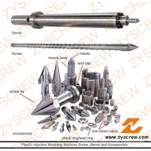 Screw Barrel Assembly for Plastic Moulding Machine