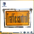 aluminium portable reflective traffic warning board