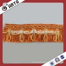 Polyester-Fransen-Troddel-Spitze-Blenden für Vorhang