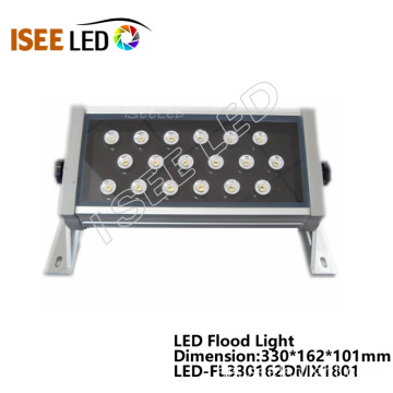 Rectángulo DMX RGB Led Wall Washer Light