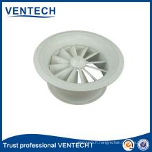HVAC swirl diffuseur en aluminium de haute qualité