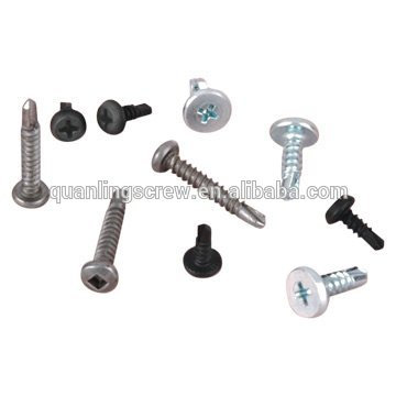 Square with pan head self drilling screw