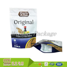 Factory Accept Customized Design Printed Resealable Zipper Snack Food Packaging Pouch