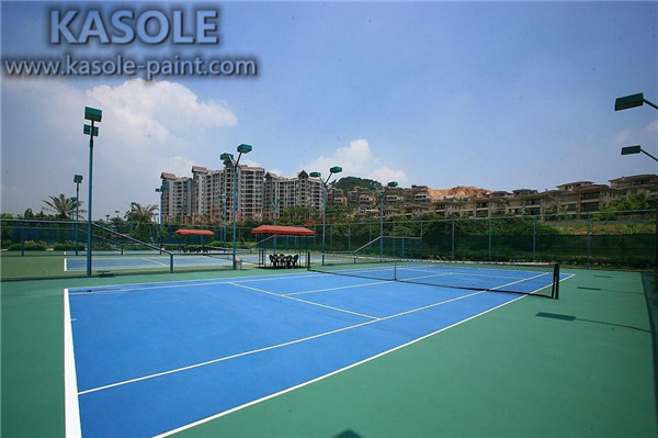 Hard Acrylic Courts for School playground