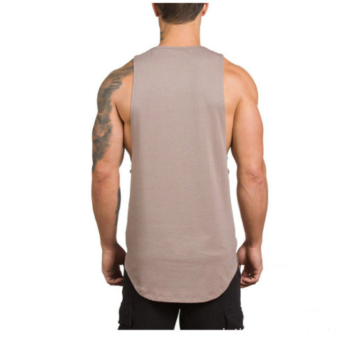 Soild Color Bodybuilding Casual para Hombres