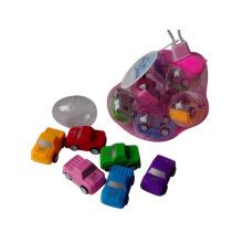 Juguete plástico del precio barato del coche del tirón para los niños