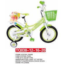 """12 """"La más nueva llegada de bicicleta para niños / bicicleta de color verde para bebés"""
