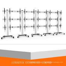 15 écrans TV Mobile Cart / Multi-Screen TV Panier