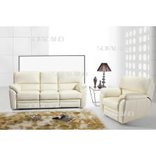 Modern Italy Leather Furniture Recliner Sofa (604)