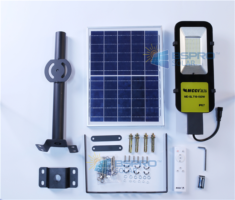 solar street light kit price