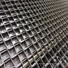 Cooling Great Wall mesh belt equipment with horseshoe chain square hole conveyor belt