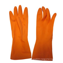 Hot Sale Waterproof Household Latex Gloves Rubber Cleaning Gloves