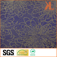 Polyester Quality Jacquard Peony Flower Design Wide Width Table Cloth