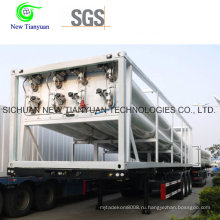 12 Tubes CNG Tube Bundle Container, CNG Полуприцеп