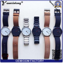 Yxl-929 Relogio Masculino Uhr Männer Militär Quarzuhr Chronograph Herrenuhren Top Marken Luxus Leder Sport Armbanduhr