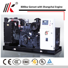15 MW GENERATOR WITH SHANGHAI ENGINES 800KW MOVABLE CLOSED TYPE