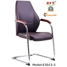 Chinese Ergonomic Hotel Couro Reunião / conferência Visitante cadeira (E2012-2)