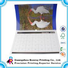 Индивидуальные высокое качество большой бумажный настенный календарь на 2015 год новогодний подарок