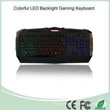 Wired USB Multimedia LED Metal Gaming Keyboard (KB-1902EL)