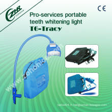 T6 Portable Blue LED Light Tooth Whitening Beauty Machine