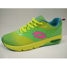 Candy Color Young Style Running Shoes with Air Cushion Outsole