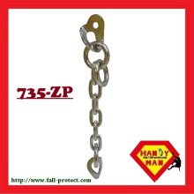 735-ZP set metal mountaineering equipment rock climbing chain anchor
