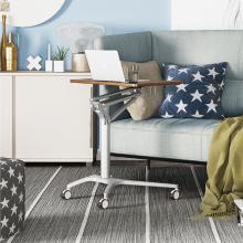 Asseyez-vous et tenez-vous debout sur la table de lit
