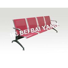 (D-7) Plastic-Sprayed Waiting Chair with Punched Steel Plate