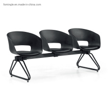 3 Seater Public Seatings with Plastic or ABS Seat and Back