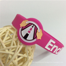 Eco-Friendly Deboossed Customized Promotional Gifts Silicone Wristband