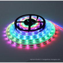 Type d'élément de bandes lumineuses et source de lumière à bande WS2812B