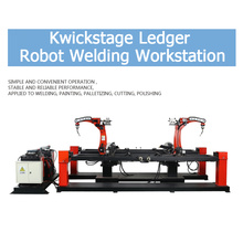Kwikstage Ledger Robot Welding Workstation