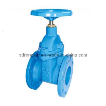 Ductile Iron Flange Ends Válvula Resistente de Válvula de Vástago No Aumentante (RX-GV-YT-DZ45X-16Q)