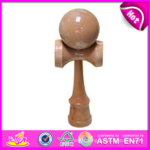 Promotional Wooden Kendama Toys for Gift, Classic Wooden Kendama Toy Wholesale, Wooden Kendama Toy with 18.5*6*7cm W01A026