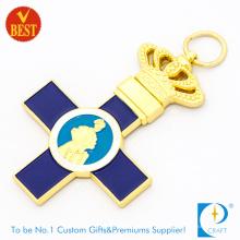 Preço de fábrica de alta qualidade China personalizado logotipo chaveiro ou anel para presente de lembrança