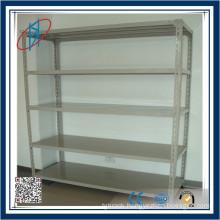 Light Weight Angle Steel Storage Shelf/Warehouse Storage Shelf/Slotted Angle Steel Rack/Clothes Rack