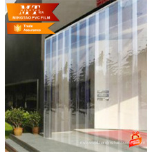 Super clear PVC film strip Curtain Door with Poleaster Mosquito