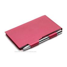 Metall Notizblockhalter mit Stift für Business Geschenke