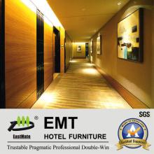 Paneles de pared de madera decorativos en MDF / Interior del hotel Panel de pared de madera (EMT-F1211)
