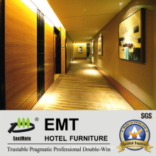 Painéis decorativos de parede arborizada em MDF / painel de parede de madeira do interior do hotel (EMT-F1211)