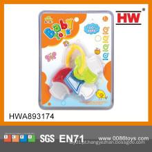 2015 Novo Design Plush brinquedo plástico brinquedo engraçado bebê teether