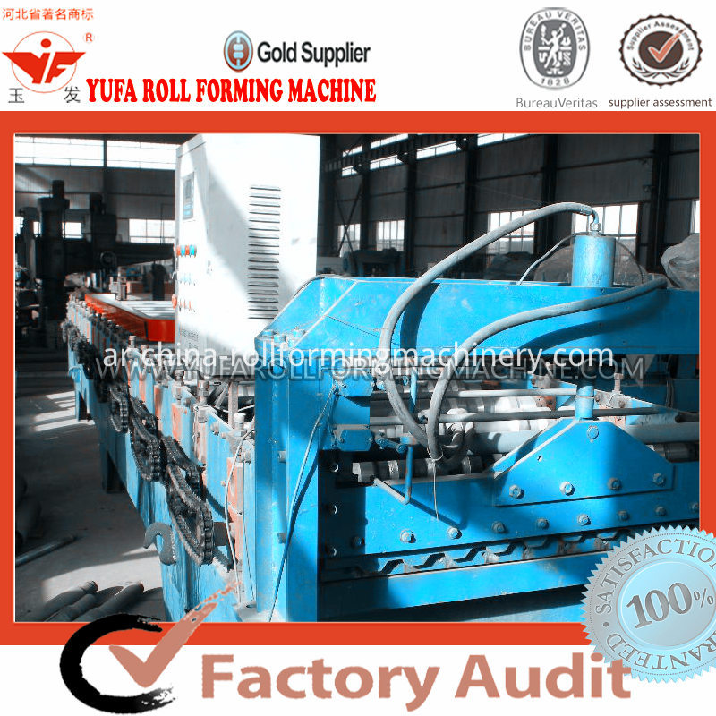 C21 Roof panel roll forming machine
