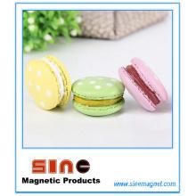 Aimant créatif de réfrigérateur de macaron multicolore