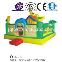 JQ23017 Diapositivas inflables para la venta, juguete inflable, diapositiva gigante inflable con el carril doble