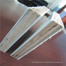 Revestimento de fibra de vidro revestido com fibra de vidro e painéis de madeira compensada para pavimentos de autocarros