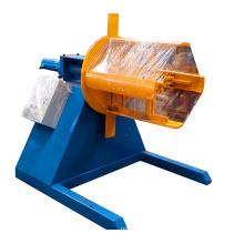 Hebei Xinnuo Hydraulic Metal Sheet Motorized Decoiler With Soild Shaft